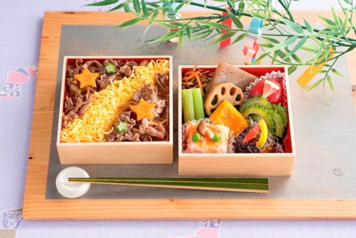 【食品・七夕】まつおか:七夕二段弁当