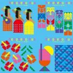 【池袋パルコ】ビアガーデン1万人突破!6月限定企画「heno heno pua(かわいい はな)」開催!