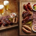 【アイビアー・ルサンパーム】クラフトビールにあう夏限定メニュー バーベキューの発祥地テキサスをイメージした「テキサス BBQ プレート!」