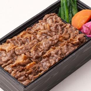 【柿安-牛めし】黒毛和牛-すき焼重