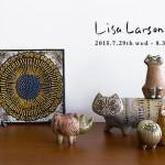 世界中の人々から愛され続けている陶芸家 リサ・ラーソンの作品を集めたフェアを開催