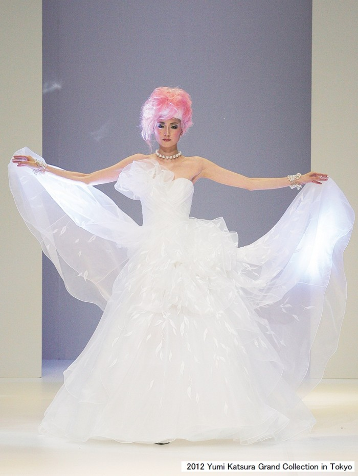 Yumi Katsura, The Wind of Asia 2012 Bridal Collection