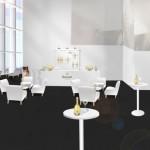 「Ruinart Champagne Lounge」が六本木ヒルズ52階展望フロアに9/28(月)-12/25(金)期間限定オープン!