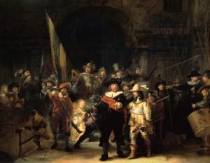 《夜警》リ・クリエイト(1642年 アムステルダム国立美術館)