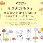 うさぎのモフィ 『パサージュ ミニョン』ルミネエスト新宿店にてポップアップストア展開決定!