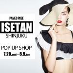 PAMEO POSEが伊勢丹新宿店本館3Fに POP UP SHOPをオープン