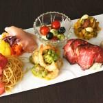 サラダカフェからクリスマスの食卓を華やかに彩るパーティーサラダが勢揃い!