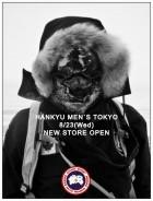 【CANADA GOOSE】 阪急メンズ POPデータ