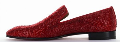 DANDELION STRASS FLAT VEAU VELOURS GG VERSION FLAMENCO 1