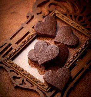 【ジル・マルシャル】ハートのサブレ チョコレート味