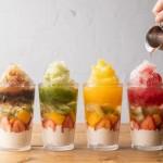 食べて、飲める「フルーツタピ氷」が4つのフレーバーで新登場