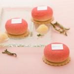 【パティスリー・サダハル・アオキ・パリ】<br>桃を使ったキュートな新作ケーキ!