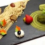 秋の味覚食べる日本庭園!<br>和栗のモンブラン!スフレパンケーキ!