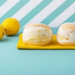 【レモンマリトッツォ】生クリーム専門店ミルクより新発売!<br>レモンのツブツブ感とほんのり黄色のクリームが夏らしい新商品