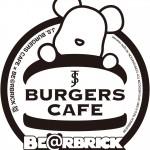 渋谷パルコで期間限定コラボカフェ!「J.S. BURGERS CAFE」×「BE@RBRICK」6月19日(金)~6月28日(日) 開催!