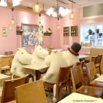 フィンランドの童話「ムーミン」をモチーフにした<br>ムーミンカフェ