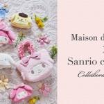 """【Maison de FLEUR】<br>大人気の「サンリオ キャラクターズ」とのコラボレーション企画!<br>ポムポムプリンがブランド初登場~マイメロディや<br>シナモロールなど""""たれ耳""""がキュートなコレクション~"""