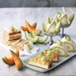 """【KIHACHI CAFE】メロン好き必見!<br>パフェ、パイ、タルト、ロールケーキが、甘くジューシーな<br>""""メロンづくし""""で楽しめる「メロンスイーツフェア」開催"""